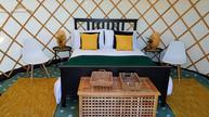 Yurts - bed