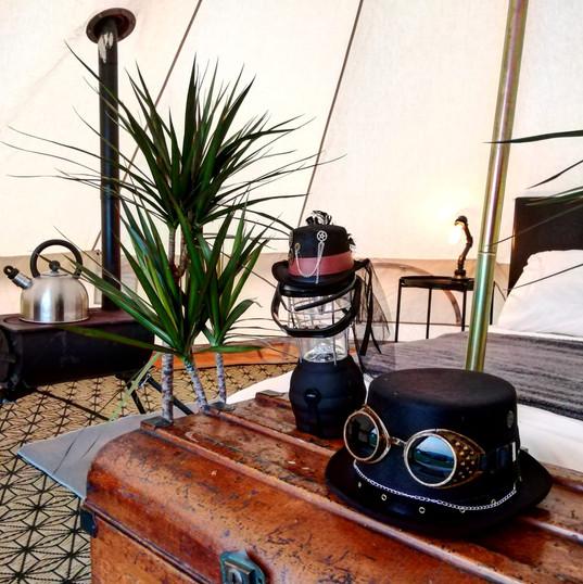 Bell Tent Buzzard