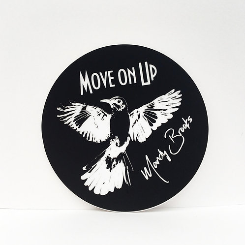 Move On Up Sticker