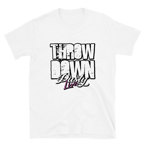DL - Throwdown Logo Short-Sleeve Unisex T-Shirt