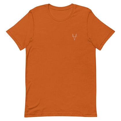 Professor Fox White Embroidered T-Shirt