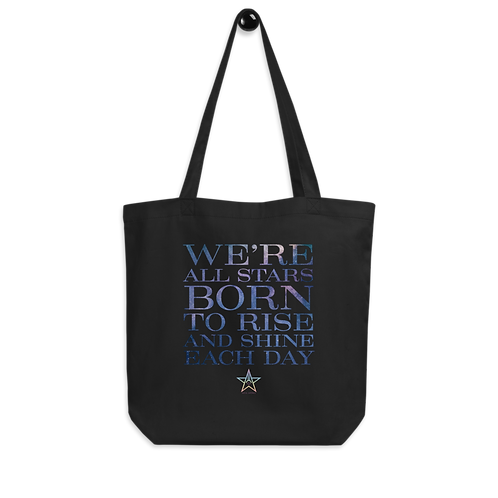 """Aiva Astra """"We're all stars..."""" Eco Tote Bag"""