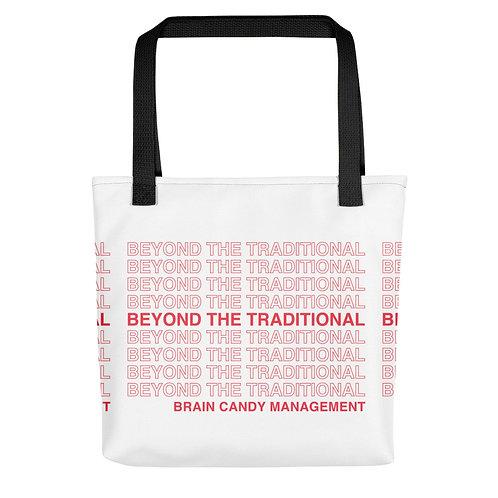 """Beyond The Traditional"" Tote bag"