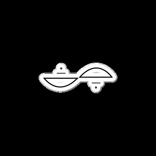 Aiva Astra - Infinite Sticker - Black