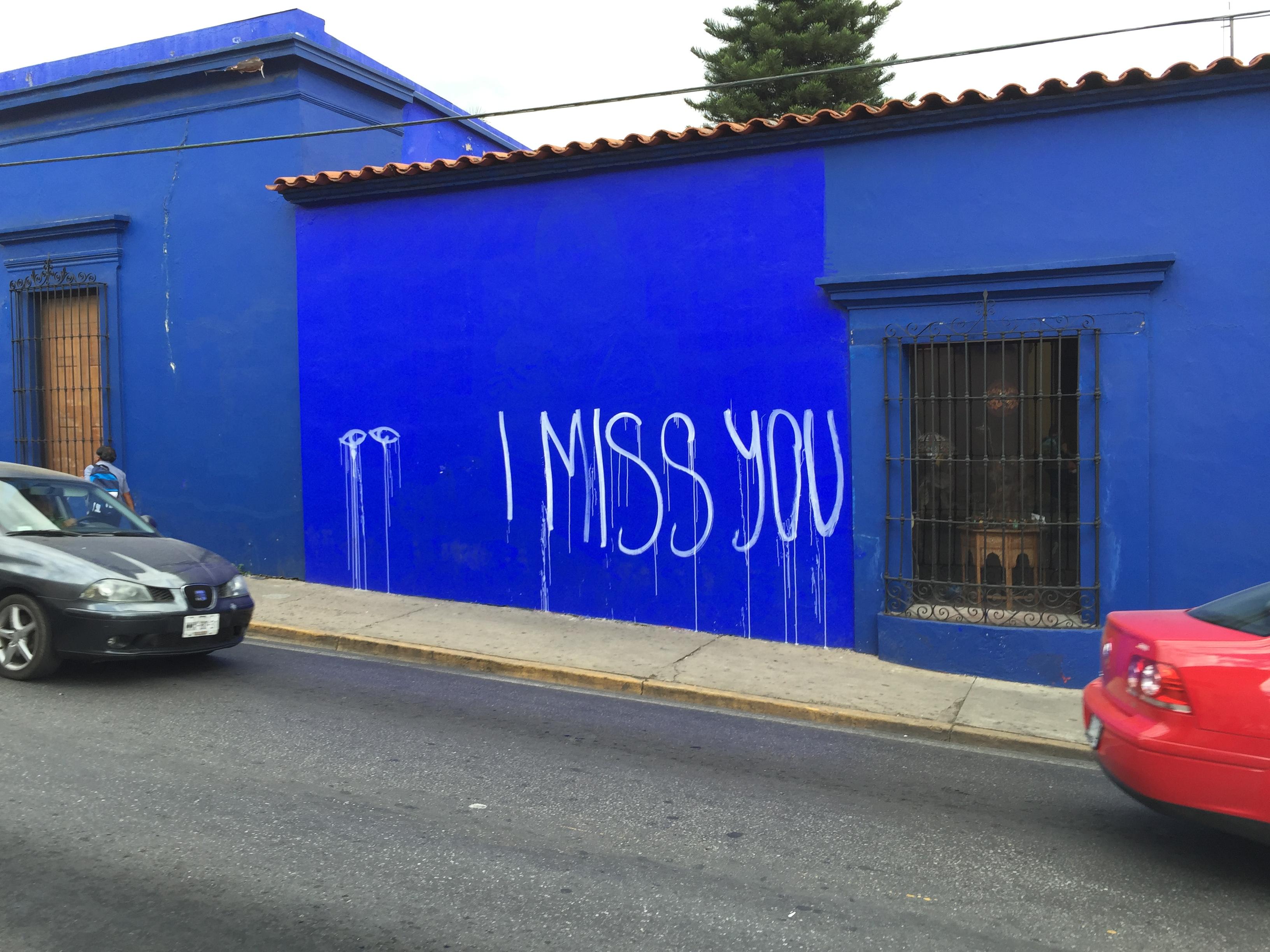 Miss you Lapiztola mural