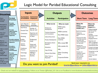 Paridad's Logic Model