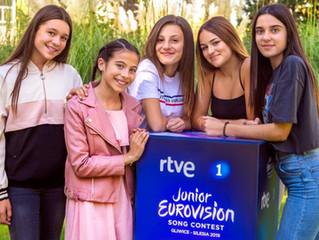 Junior Eurovision 2019 | Spain reveals Melani's backing vocalists and set designer.
