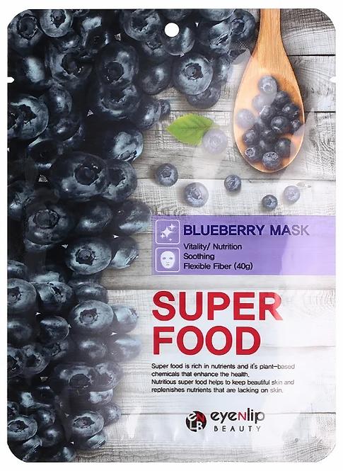 מסכת בד EYENLIP Super Food Blueberry