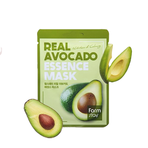 מסכת בד FarmStay Avocado