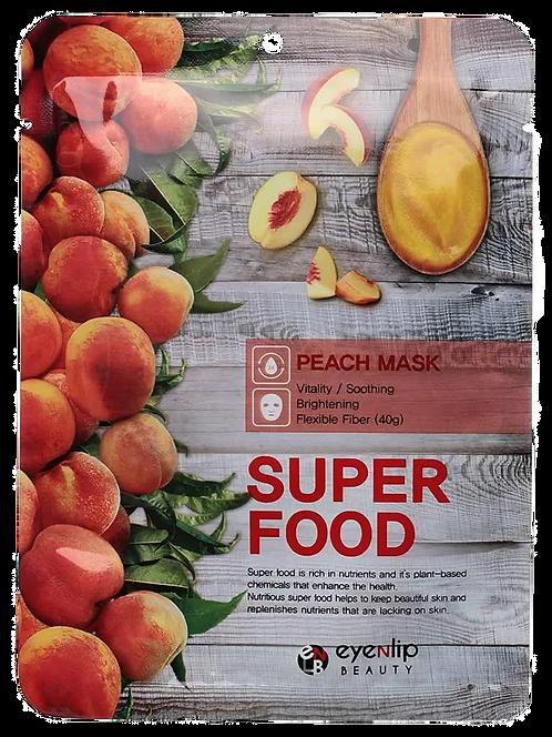 מסכת בד EYENLIP Super Food Peach