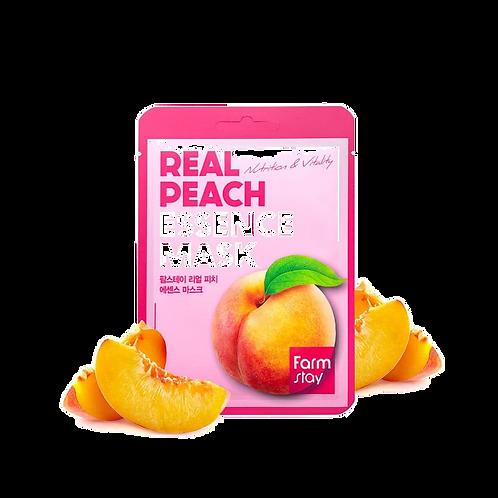 מסכת בד FarmStay Peach