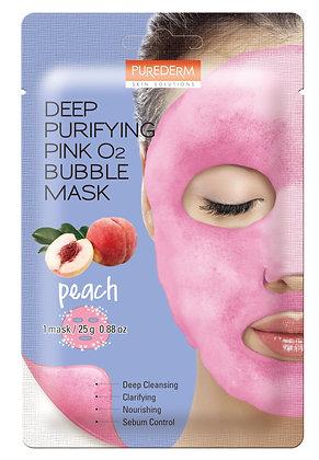 מסכת בד Purederm O2 Peach