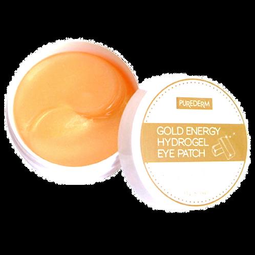 Pure Derm Hydro Gel Gold Eye Patch, 60 יחי