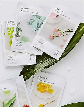 [INNISFREE] My Real Squeeze Mask EX