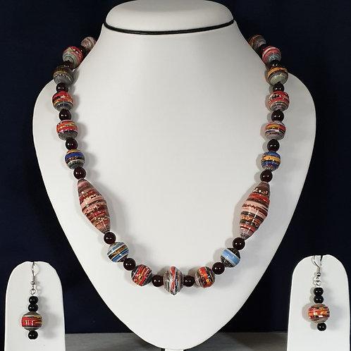 Brown Overtone Multi Shaped Beads Medium Set