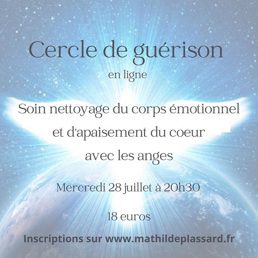 CERCLE DE GUÉRISON - SOIN AVEC LES ANGES