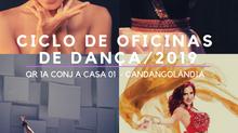 CLICO DE OFICINAS DE DANÇA NA ESQUINA CRIATIVA