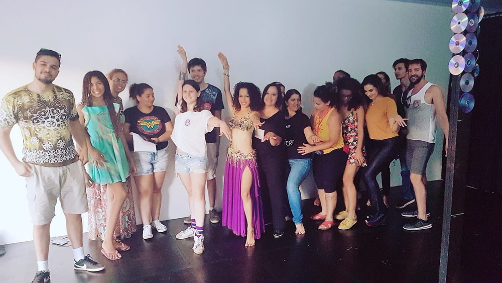 Diana Arássad- dança Árabe