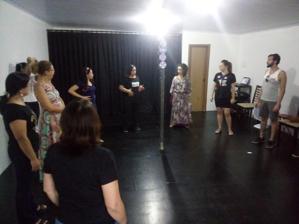 Cleani Calazans - noções de trabalho de voz para ativistas