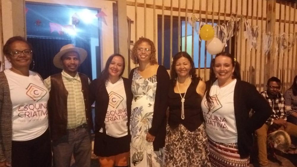 Val Moreno, Wisley, Cleani Calazans, Suely, Márcia, Jaqueline