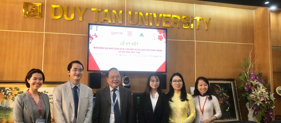 ズイタン大学との業務提携についてTuoi Tre Onlineに掲載されました