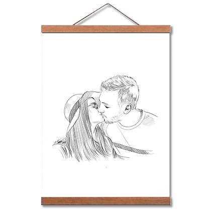 U Sketch - האיור שלכם -2  דמויות