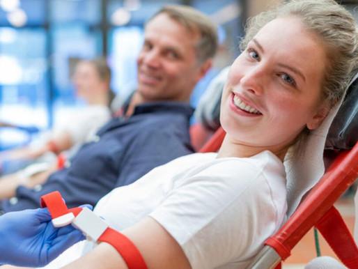 Blutspenden finden statt