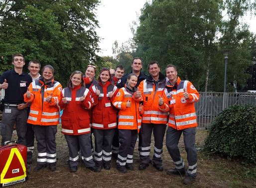 DRK Gersweiler stellt Verpflegung und Sanitäter beim Halberg Open Air