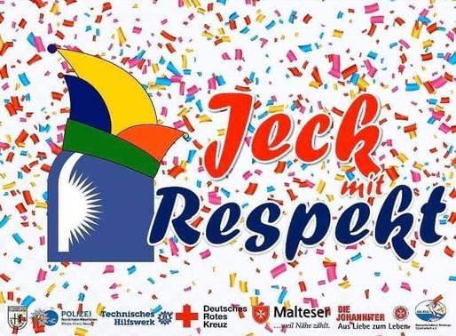 Jeck mit Respekt - Bitte auch im Saarland!