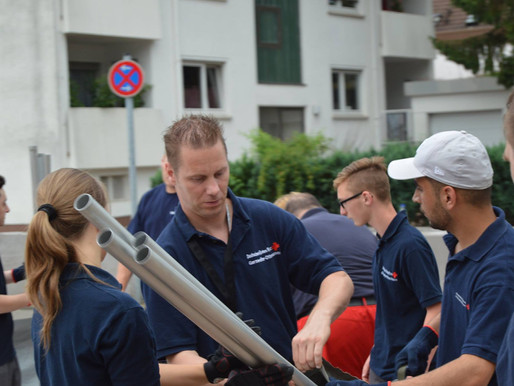 Zeltaufbau - SG 50 (UHS)