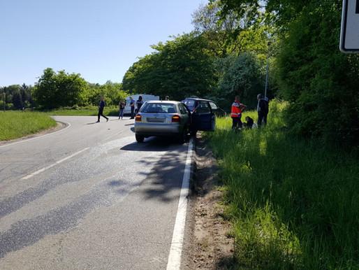 Ersthelfereinsatz nach Verkehrsunfall