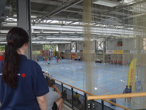 Einsatz beim Handball