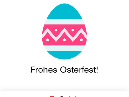 Frohe Ostern 🥚🐇
