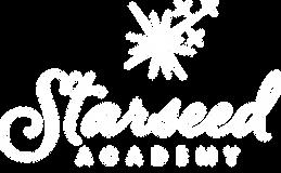1281 - Starseed Academy Logo White V10 0