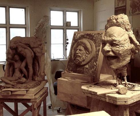 #clay clay clay #sculpture #inprogress #