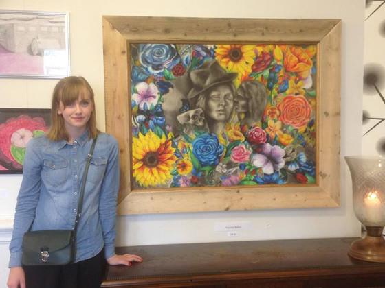 1st exhibition - Aurora  worked on this