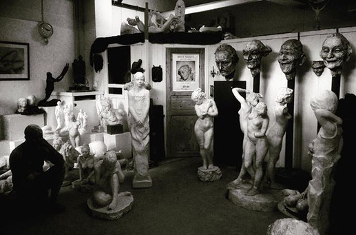 #sculpture #gallery #atelier #commission