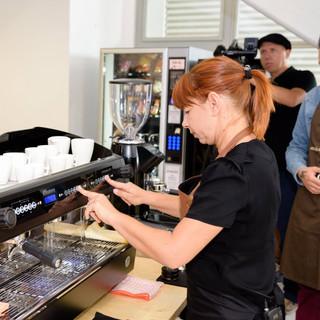 A barista Catarina
