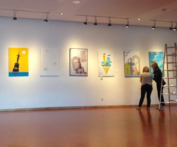 Graphic Design show, Stuttgart, 2013