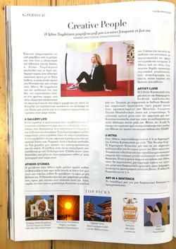 Interview Glow Magazine