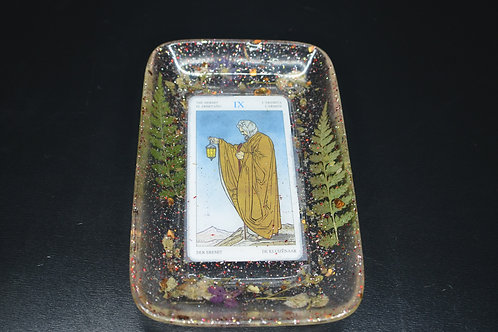 CUSTOM***Tarot Card Jewelry Dish/Rolling Tray