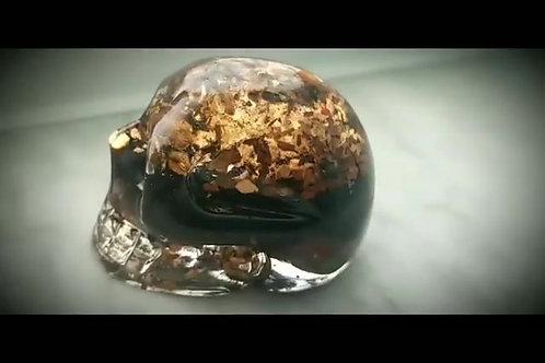 CUSTOM**** Made Organite Ancestor Skull