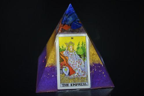 The Empress Tarot Card Organite Pyramid