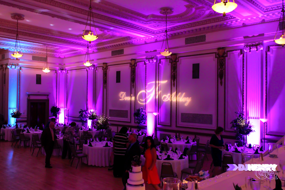 2013_DJ Henry GQ_Uplighting in Erie PA masonic temple 2
