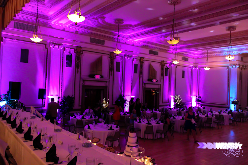 2013_DJ Henry GQ_Uplighting in Erie PA masonic temple 3