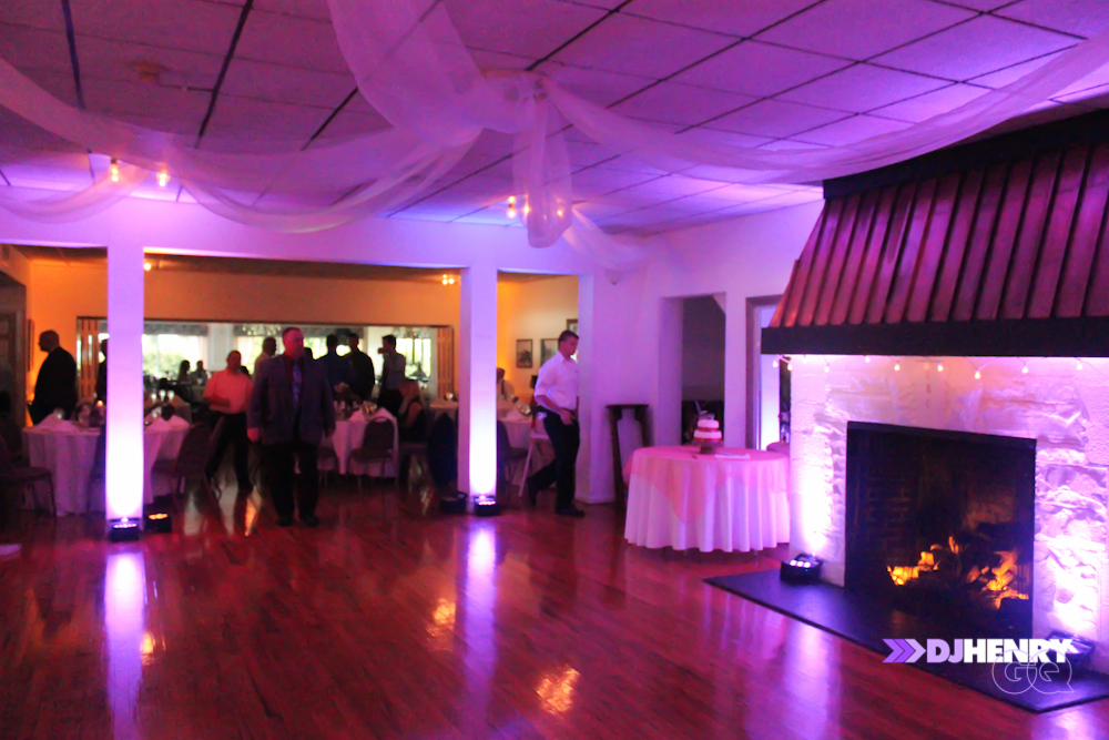 2013_DJ Henry GQ_Uplighting in Erie PA iriquois boat club 2
