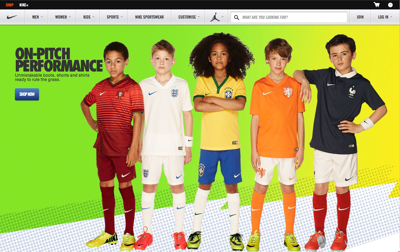 World Cup 2014 Launch for Nike Kits