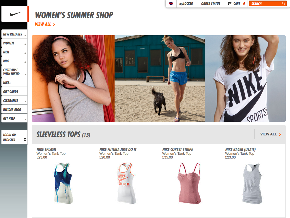 Nike Women's Summer Lookbook