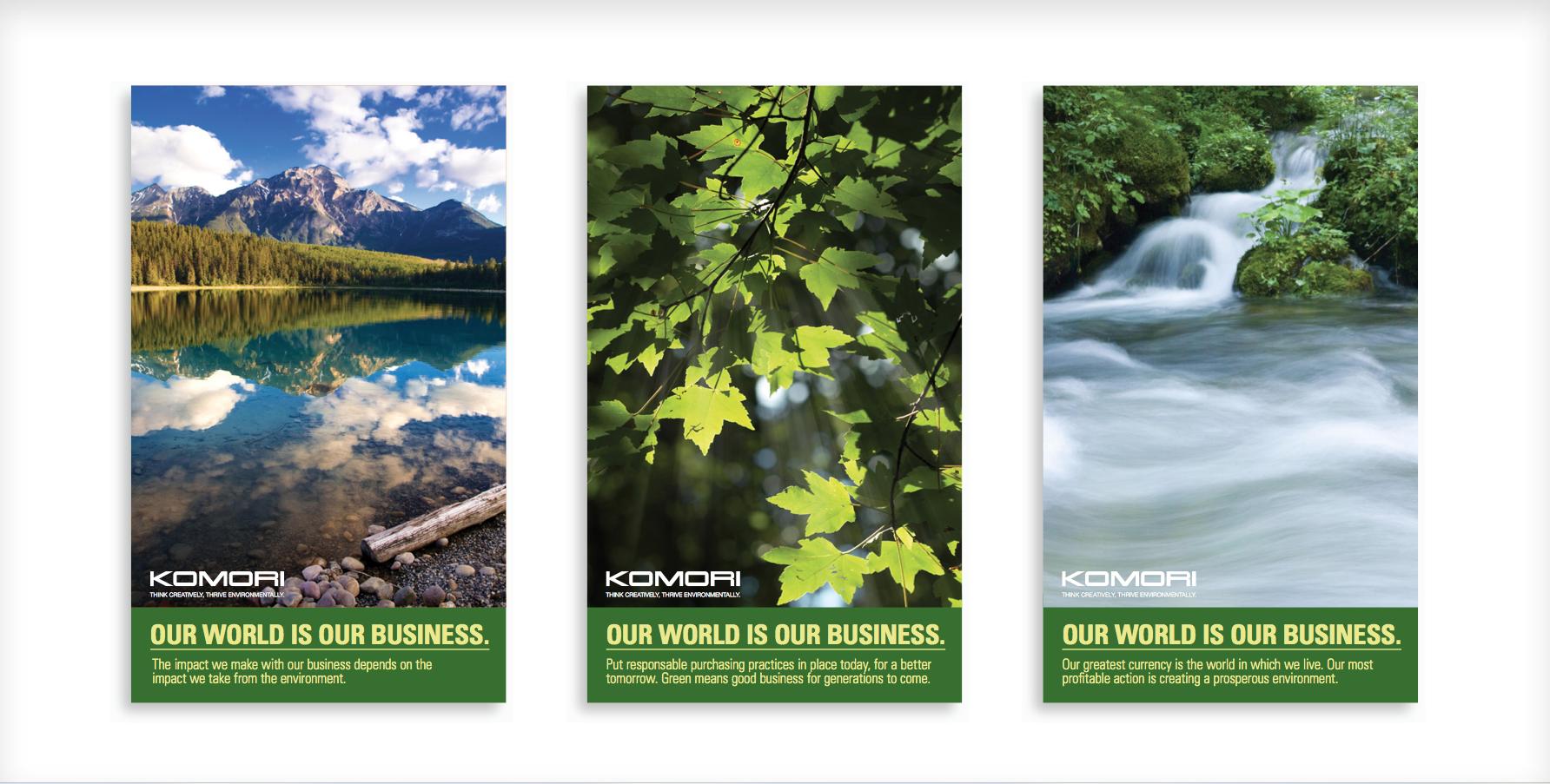 Komori Environmental Initiatives