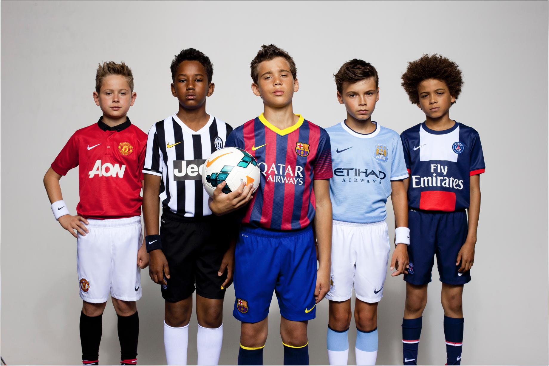 Nike Football Club Team Kits Launch